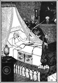 Harry Clarke's fairy tale illustrations