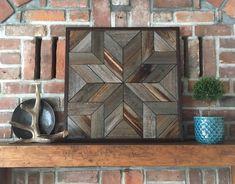 NORTH STAR Reclaimed wood wall art Wood wall quit Wood | Etsy Reclaimed Wood Wall Art, Rustic Wall Art, Wooden Wall Art, Barn Wood, Repurposed Wood, Rustic Farmhouse Decor, Rustic Wood, Farmhouse Style, Navajo Art