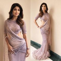 12 Saree Looks Of Shilpa Shetty That Will Surely Leave You Impressed - Tikli.in- Fashion and Beauty Trends, Designer Collections, Exclusive Deals, Bollywood Style and Latest Saree Trends, Latest Sarees, Saree Gown, Sari Dress, Lehenga Choli, Anarkali, Indian Beauty Saree, Indian Sarees, Indian Blouse