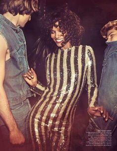 Fashion fun.  French Vogue.  May 2015. Stylist - Emmanuelle Alt (EIC) Photographer - @inezvinoodh