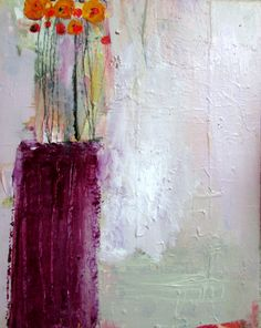 purple vase 16x20 wendy mcwilliams