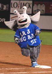 The team mascot Cosmos