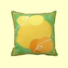 Pucker Up Fruit Pillows http://www.zazzle.com/kapskitchen?rf=238398084631009769