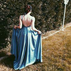 #abiye #balo #dekolte #blue    #elbise #acıkelbise
