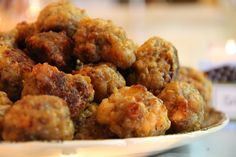 Ultimate Sausage Balls - Appetizer