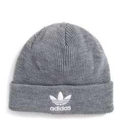 dafb24bb26c Adidas Trefoil Ii Knit Cap (65 PEN) ❤ liked on Polyvore featuring  accessories