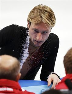 Evgeni Plushenko Drops Out of the Olympic Men's Figure Skating Competition - The Wire