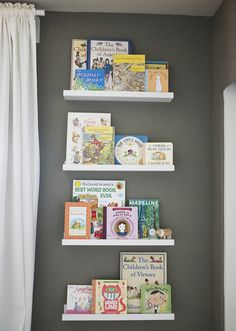 Meet Cassie {An Introduction and Mini Home Tour} - The Inspired Room Book Ledge, Child And Child, Better Homes And Gardens, Kid Spaces, Decoration, House Tours, Room Inspiration, Book Worms, Childrens Books