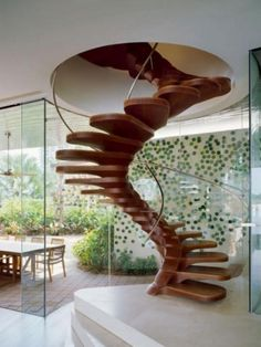 Amazing Stairs! #Stairs #Wood
