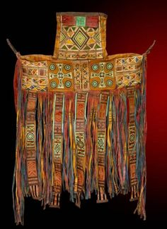 Camel Saddle Bag. Saddle Bag, mid 20th century.  Niger, Tuareg  Leather, paint, embroidery | ADAC