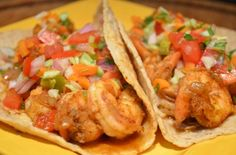 Quick Shrimp Tacos from tastykitchen.com.  Can't wait to try them.