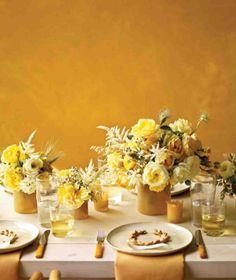Hochzeit in Gelb: die schönsten Ideen | WonderWed Blog WonderWed.de