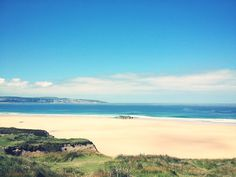 Cornwall - Hayle. Most beautiful beach I've seen in the UK