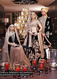 Outfits by Sabyasachi