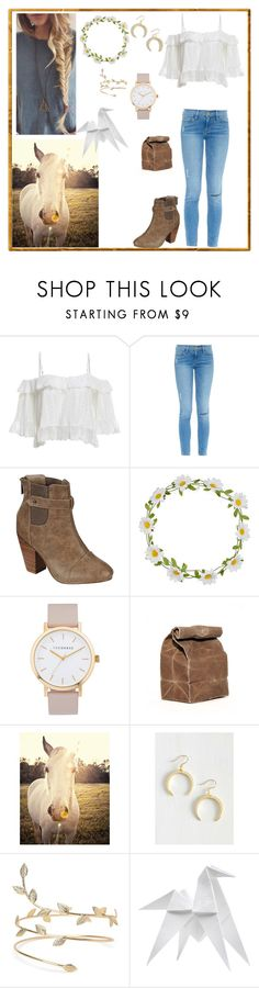 """""""🐎"""" by noypint ❤ liked on Polyvore featuring Frame, Breckelle's, Carole, The Horse, Universal Lighting and Decor and Hermès"""
