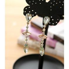Buy 'Petit et Belle – Crystal Drop Earrings' at YesStyle.com plus more items and get Free International Shipping on qualifying orders.