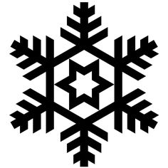 52 Snowflakes Vectors, Silhouette and Photoshop Brushes for ...