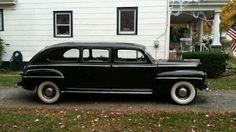 Ford hearse rare 1947