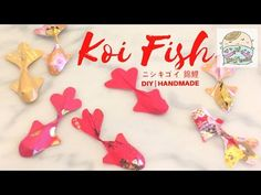 賀年摺紙| DIY Chinese New Year Decor : 3D Ang Pow KOI Fish - YouTube
