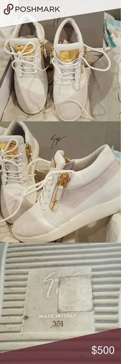 Giuseppe zanotti sneakers With box and dust Bag. New condition. Giuseppe Zanotti Shoes Sneakers