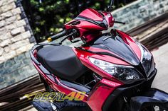 Tem xe Honda Airblade 125 - 018 - Tem xe thiết kế Matte Black Air Blade, Matte Black, Honda, Motorcycle, Car, Automobile, Motorcycles, Motorbikes, Autos