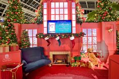 Inside Santa's Lair!   For more information on Center Stage Seasonal Decor, visit: www.cspdisplay.com/seasonal-decor/