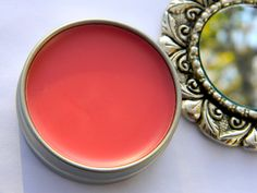 Rani's Rouge-100% Natural-Organic Creme Blush with Alkanet root and Organic  Skin Healing oils. $9.00, via Etsy.