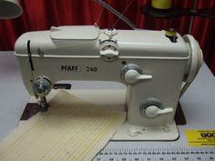 Pfaff 260 261 Zig Zag Freehand Embroidery Industrial Sewing Machine   eBay