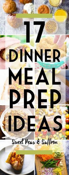 The ultimate dinner meal prep post, packed full of recipe ideas, freezer and fridge-friendly recipes, and tips to help you get a head start on your dinners.