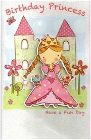 Picture of Children's Birthday card - Birthday Princess