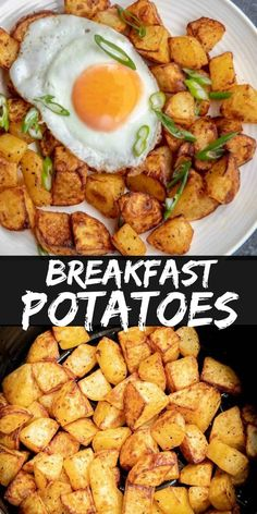 Breakfast Potatoes made in the Air Fryer are cooked in only 15 minutes and produce the crispiest and creamiest potatoes your breakfast plate is begging for. fryer recipes healthy breakfast Breakfast Potatoes in the Air Fryer Air Fryer Recipes Breakfast, Air Fryer Dinner Recipes, Air Fryer Oven Recipes, Breakfast Plate, Air Fryer Recipes Potatoes, Air Fry Potatoes, Breakfast Potatoes Easy, Breakfast Potato Recipes, Airfryer Breakfast Recipes