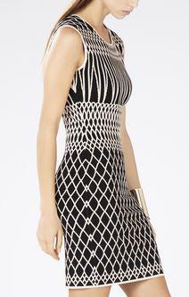 Elena Jacquard Dress