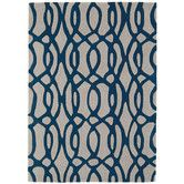 Found it at Temple & Webster - Designer Asiatic Wire Blue Rug