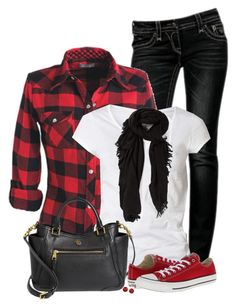 How to wear red converse casual jeans Ideas Red Converse Outfit, Converse Bag, Converse Style, Converse Fashion, Casual Jeans, Casual Outfits, Cute Outfits, All Star, Fall Winter Outfits