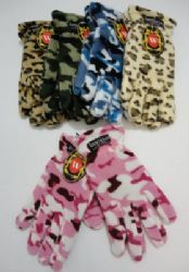 Ladies Camo & Animal Print Fleece Gloves Snow Theme, Fleece Gloves, Cool Stuff, Funny Stuff, Camo, Winter Gloves, Animal, Pictures, Funny Things