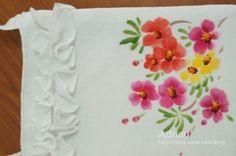 천아트) 아기 원피스에 그린 채송화 : 네이버 블로그