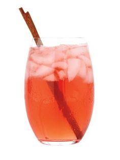 Summer Sunset (Vodka, triple sec, pomegranate juice)