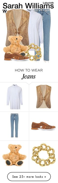 """""""Labyrinth"""" by wearwhatyouwatch on Polyvore featuring Acne Studios, Glamorous, Valentin Magro, Filles à papa, Miista, wearwhatyouwatch and film"""