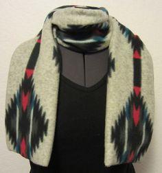 Handmade Double Layer Polar Fleece Scarf, Unisex, Adult, Men, Ladies, Teens, Winter, Warm, Snow Wear, Cozy, Sloft, Plush, Comfort, Bright