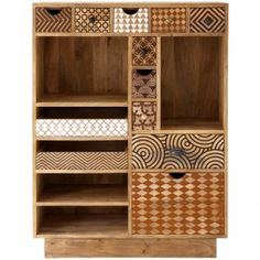 Embrace your roots with an African hand-crafted wooden cabinet from Weylandts. Love the pattern detailing. Chest Furniture, Cabinet Furniture, Bedroom Furniture, Global Decor, Weylandts, Wardrobe Cabinets, Wooden Cabinets, African Design, Furniture For Small Spaces