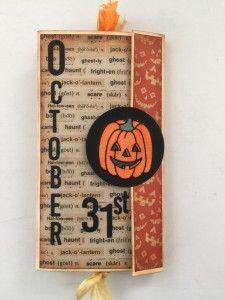 Halloween Fun With Elizabeth Craft Designs