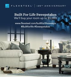 Furniture sweepstakes giveaway 2018