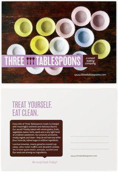 Three Tablespoons Branding