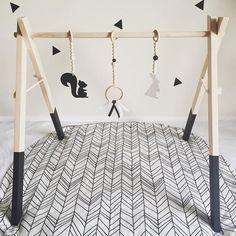 Woodlands Playgym Set / Little Pine & Co