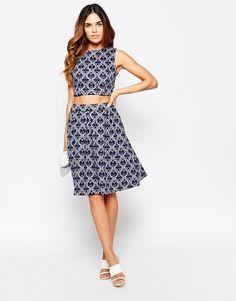 Hedonia+Brooke+Midi+Skirt