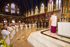 priesterwijding bij de Herauten van het Evangelie