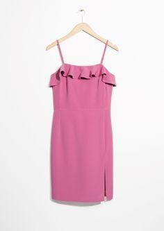 & Other Stories | Frill Mini Dress