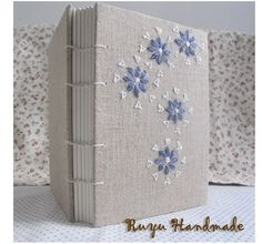 Linen for Hand Embroidery NoteBook