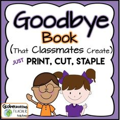 A wonderful goodbye gift for teachers, students, student teachers…