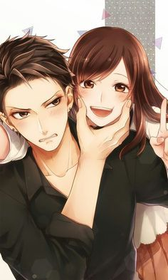 best ideas for drawing faces of anime couples - painting - . - best ideas for drawing faces of anime couples - Couple Amour Anime, Couple Anime Manga, Anime Couples Drawings, Anime Love Couple, Anime Couples Manga, Cute Anime Couples, Anime Guys, Manga Anime, Hot Anime